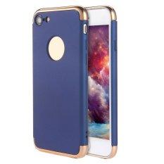 Womdee Kobwa IPhone 7 Case, 3 In 1 Ultra Tipis Hard Anti-Gores Tahan Guncangan Menyepuh Dgn Listrik Frame dengan Permukaan Permukaan Kasus Grip Yang Bagus untuk Apple IPhone 7-Intl