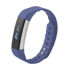 Womdee Smart Bluetooth Gelang Informasi Mendorong Call Perintah Olahraga Gelang Pedometer Mileage Kalori Tidur Monitor-Intl