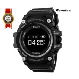 Promo Womdee T1 Smart Watch Waterproof Ip68 Heart Rate Monitor Bluetooth 4 Outdoor Sport Clock For Ios Android Phone Smartwatch Intl