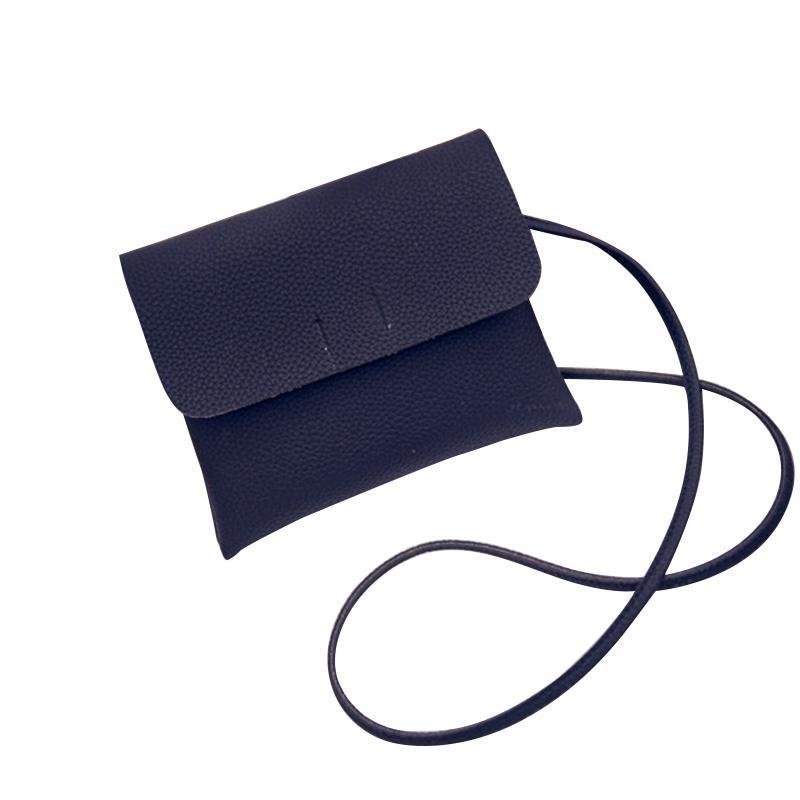 Review Women Small Pu Leather Shoulder Bags Black Intl Di Tiongkok