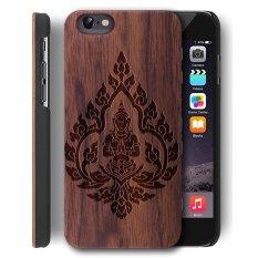 Diskon Besarkayu Case Untuk Apple Iphone 6 Plus Iphone 6 S Plus 5 5 Inch Walnut Pc Back Cover Kualitas Premium Kasus Kayu Alami Untuk Smartphone Oleh Yuanqian Walnut Buddha Intl