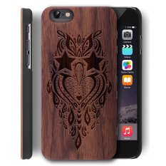 Wooden Case untuk Apple IPhone 6 Plus/iPhone 6 S Plus [