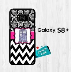 Word Art Tardis Doctor Who X0182 Casing HP Samsung Galaxy S8 Plus Custom Case Cover