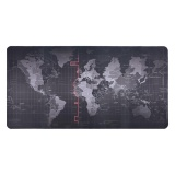 Promo World Map Pattern Mouse Pad Gaming Mat Non Slip Mousepad With Stitched Edge 500 1000 2Mm Intl Oem Terbaru