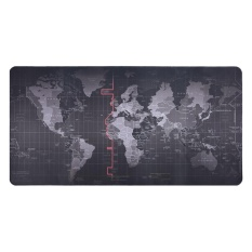 Harga World Map Pattern Mouse Pad Gaming Mat Non Slip Mousepad With Stitched Edge 500 1000 2Mm Intl Paling Murah
