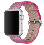 Ulasan Mengenai Kain Tenun Strap Nylon Watch Band Untuk Apple Watch 42Mm Di Pink