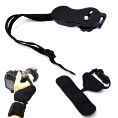 Wrist Grip Hand Strap For Universal Camera Waterproof Dual Strap Protection - intl