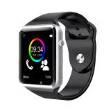 Jam Tangan Bluetooth A1 Cerdas Perhiasan Olahraga Alat Pengukur Langkah With Sim Kamera Selai Pintar For Ios Android Smartphone Hitam Tiongkok Diskon