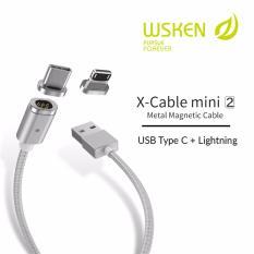 Toko Wsken X Cable Mini 2 Dual Plug Usb Type C Lightning Combo Wsken Online