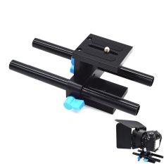 Wuzeyu 15mm Rod Rail Sistem Pendukung Quick Release Mount untuk DSLR Ikuti Fokus Rig 5D2 5D3-Intl