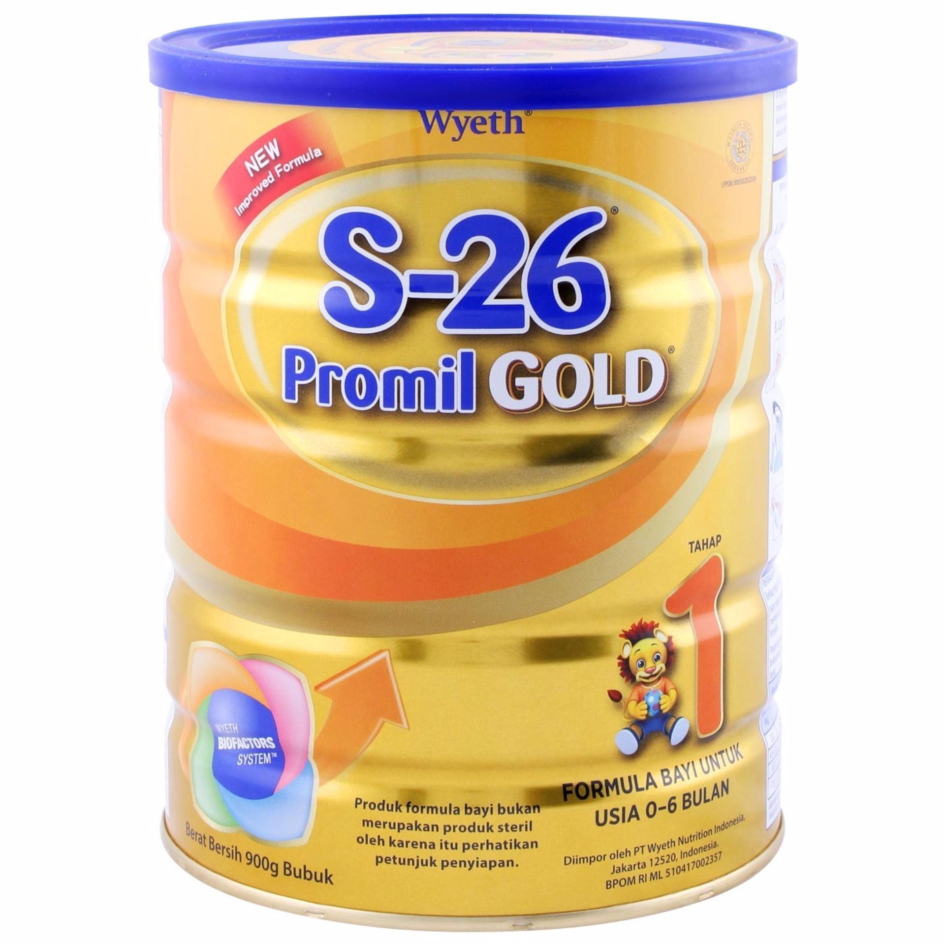 Beli Wyeth S26 Promil Gold Tahap 1 Susu Bayi 900 Gr Wyeth S26
