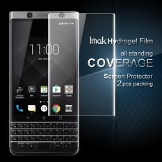 Promo X 2 Pcs For Blackberry Keyone Dtek70 Mercury Hydrogel Film Hd Clear Screen Protector Film For Blackberry Dtek70 3D Curved Edge Handphone Layar Film Pelindung Kaca 015Mm Tiongkok