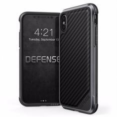 Promo X Doria Defense Lux Case For Iphone X Black Carbon Fiber Akhir Tahun