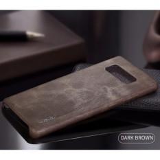 X-Level Vintage Samsung Galaxy Note 8 Soft Hard Case Cover Leather original - DARK BROWN