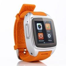 Beli X01 Tahan Air 5 Mp Kamera Android 4 2 2 Smart Watch Wrist Wrap Watch Phone Orange Terbaru