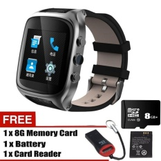 Review X01S Layar Sentuh Jam Smart 5 1 Android Ponsel Mtk6572 Dual Core1 3Ghz Wifi Gps Bluetooth Tahan Air Pedometer Smart Gelang Intl
