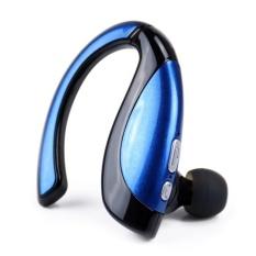 X16 Stereo Nirkabel Bluetooth Headset In-Ear Musik SportsBluetoothEarphone Hands-free Headphone Enhanced BASS (Warna: Biru) & Nbsp-Intl