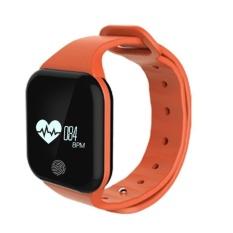 X5 Gelang Heart Rate Monitor Smart Jam Olahraga Pengingat Smart Gelang untuk IOS dan Android-Intl