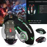 Spesifikasi X500 Mekanik Makro Menentukan Usb Wired Game Mouse 6 Tombol Yang Dapat Diprogram 3200 Dpi Optik Led Gaming Mouse Internasional Murah Berkualitas