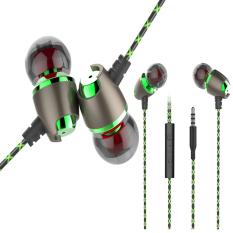 Toko Jual X 50 M Olahraga Earphone Di Telinga Magnetic Headset For Telepon Kebisingan Isolasi Mengalahkan Headphone With Mikrofon 3 5Mm Plug Untuk Iphone Android Pad Mac Pc Internasional