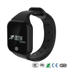 X5S Pemantauan Denyut Jantung Bluetooth Smart Gelang Watch Android dengan SDK untuk Orang Dewasa Pelacakan Gerak Langkah Jarak Kalori-Intl