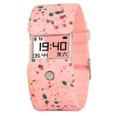 X6 Monitor Denyut Jantung Smartwatch Lengkap LCD Transparan Pesan Pengingat Panggilan Smart Gelang untuk IOS dan Android-Intl