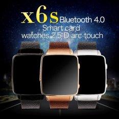 Toko X6S Smart Watch Hrm Nyata Denyut Jantung Bluetooth Genuine Untuk Android Ios Hitam Int L Intl Online Di Tiongkok