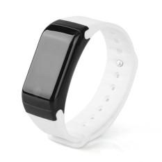X7 Gelang Jantung Kesehatan Monitor Perangkat dengan Bluetooth Smart Band Pedometer Oximetry Olahraga Gelang Kebugaran Tracker Watches (Wh-Intl
