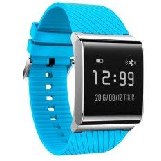 Diskon X9 Plus Gelang Monitor Detak Jantung Tekanan Darah Smart Watch Darah Oksigen Monitor Smart Band Bluetooth Kebugaran Tracker Bracelet Intl Branded