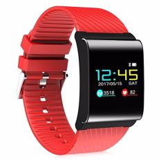 Jual X9 Pro Smartband Oled With Colour And Heart Rate Blood Pressure Monitor Sedentary Reminder Pedometer Remote Camera Ip67 Waterproof Red Murah