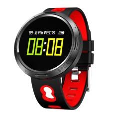 X9-VO Bluetooth 4.0 Smart Watch Sleep Heart Rate Monitor Fitness Bracele RD - intl