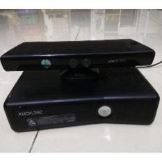 xbox 360gb, lengkap kinek + 1 stick wairelles plus hardisk 250gb