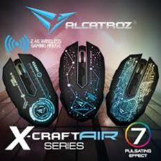 Beli Xcraft Air Tron 5000 Alcatroz Wireless Gaming Mouse Macro Ready Best Buy Alcatroz Murah