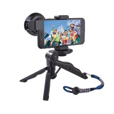 Jual Xcsource 6X Super Wide Angle 15X Macro Lens Mini Tripod Clip On Cell Phone Kit Satu Set