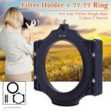 Spesifikasi Xcsource 100Mm Filter Holder 77Mm Ring For Lee Tiffen Singh Ray Cokin Z 4X4 5 6 5 Online