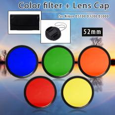 Harga Xcsource 52Mm Filter Warna Biru Kuning Merah Hijau Untuk Nikon D5100 D3200 D3000 Lf68 Xcsource
