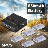 Jual Xcsource 5Pcs 3 7V 850Mah Lipo Battery Charger Motor For Cheerson Cx 30 Cx 31 Drone Rc476 Online