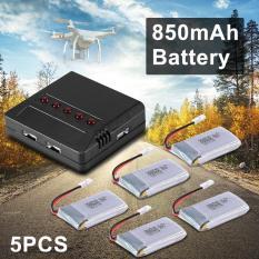 Dimana Beli Xcsource 5Pcs 3 7V 850Mah Lipo Battery Charger Motor For Cheerson Cx 30 Cx 31 Drone Rc476 Xcsource