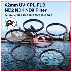 Beli Barang Xcsource 62Mm Uv Cpl Fld Nd2 Nd4 Nd8 Filter Untuk Canon 350D 400D 450D 500D 550D 600D Lf421 Intl Online
