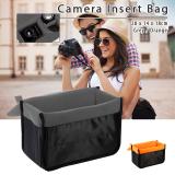 Jual Xcsource Tas Kamera Sisipkan Melindungi Kantong Fleksibel Untuk Wadah Partisi Empuk Dslr Slr Lensa Abu Abu Lf680 Internasional Import