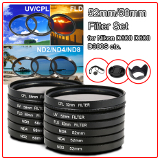 Jual Xcsource Filter Set Lensa Kap 52 Mm Untuk Nikon D800 D600 D300S D7000 D5200 D5100 Lf133 Antik