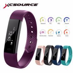 XCSOURCE ID115 OLED Bluetooth Smart Watch Bracelet Sports Fitness Activity Sleep Tracker AC658 - intl