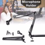 Beli Xcsource Mic Arm Stand Microphone Suspension Boom Scissor Holder For Sound Record Xcsource Dengan Harga Terjangkau