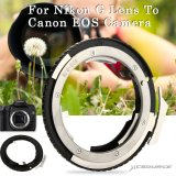 Beli Xcsource Gunung Cincin For Adaptor Nikon G Lensa For Canon Eos Kamera 60D 70D 600D 700D 1100D 1200D Dc640 Xcsource Online