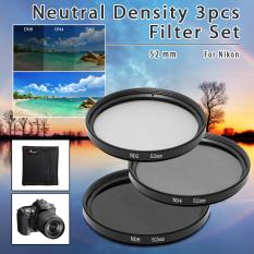 Beli Xcsource Nd Nd2 Nd4 Nd8 52Mm 52Mm Neutral Density 3 Pcs Filter Set Lens Kit Lf60 Online Hong Kong Sar Tiongkok
