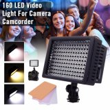 Beli Xcsource Pro 160 Led Video Light Studio Lamp Panel 3 Filters For Dslr Camera Dv Di Dki Jakarta