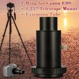 Diskon Xcsource Teleskop Adaptor Kamera 1 25 Sambungan Tabung T Ring Untuk Canon Eos Logam Dc618 Akhir Tahun
