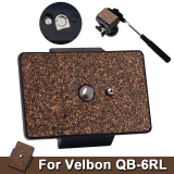 Beli Xcsource Tripod Quick Release Plate Untuk Velbon Qb 6Rl Brown Xcsource Murah