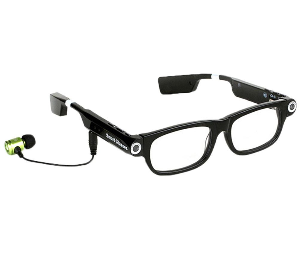 Spesifikasi Xfsmy Wearable Video Camera Glasses With Bluetooth Headset Drive Safe Assist Black Yang Bagus