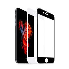Beli Xhleia Anti Scratch 3D Carbon Fiber Melengkung 9 H Film Round Edge Full Cover Tempered Screen Glass Protector Premium Untuk Iphone 6 6 S Plus 5 5 Inci Putih Intl Online Tiongkok